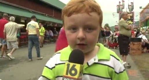 "The ""Apparently Kid"" Makes His Official TV Debut"