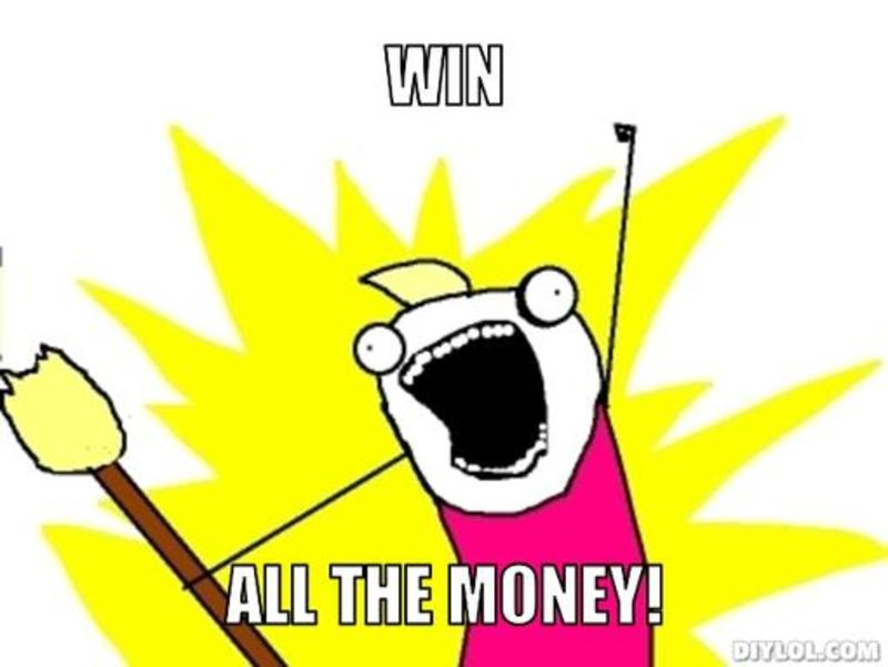 Win money meme image