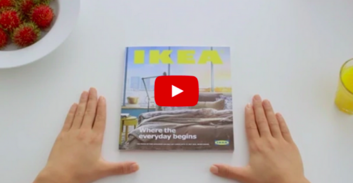 Watch: Experience The Power Of IKEA Bookbook
