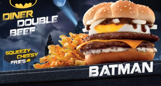 McDonald's Brand New Bat-Burger!