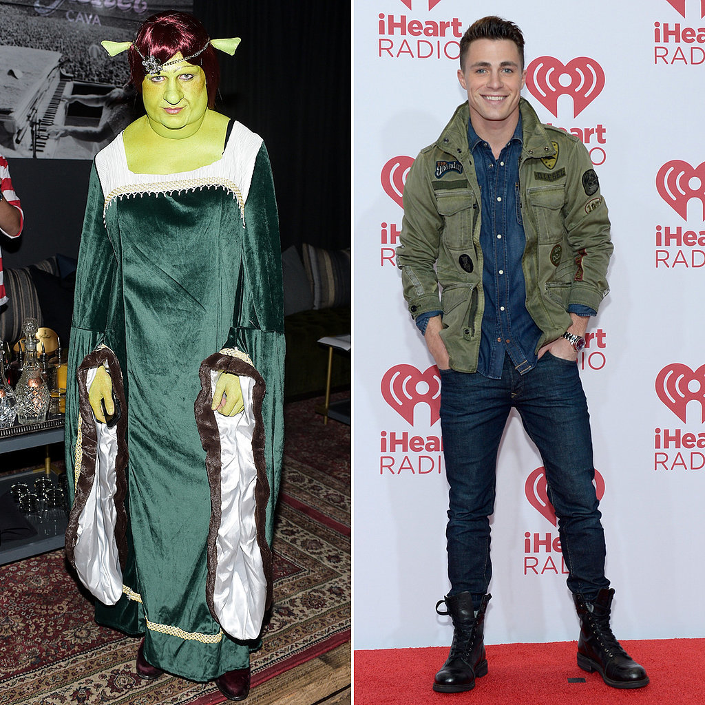 Colton-Haynes-Fiona-From-Shrek-Halloween-Costume