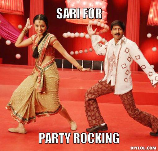 indian-dancing-meme-generator-sari-for-party-rocking-cea7e5