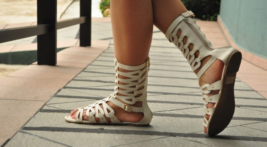 Spotted: Gladiator Sandals!