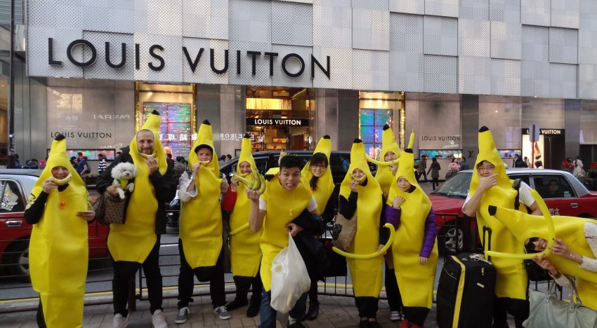 Trippy Bananas Chilling At Soho…What The?