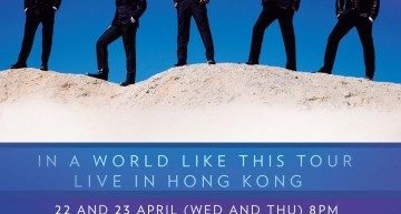 The Backstreet Boys In A World Like This Tour