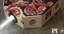 HK Pizza Hut Launches…The Pizza Box Movie Projector?!