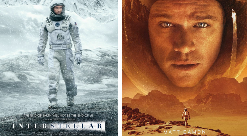 Interstellar vs. The Martian – the Ultimate Showdown