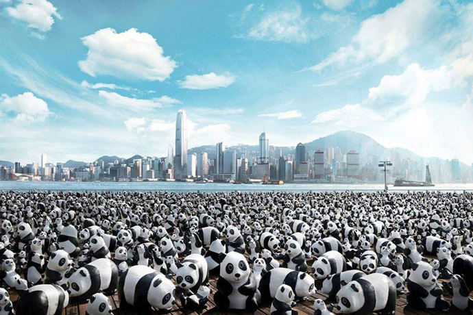 1600 Pandas World Tour in Hong Kong