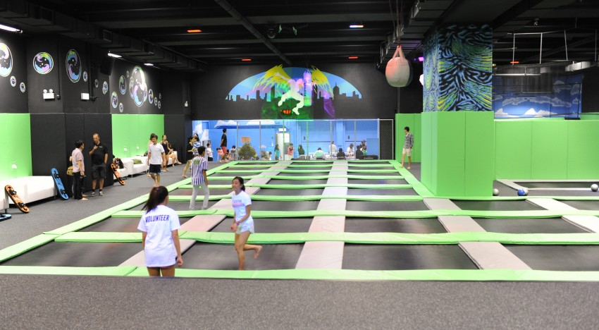 An Exclusive Look At Hong Kong's Brand New Trampoline Park