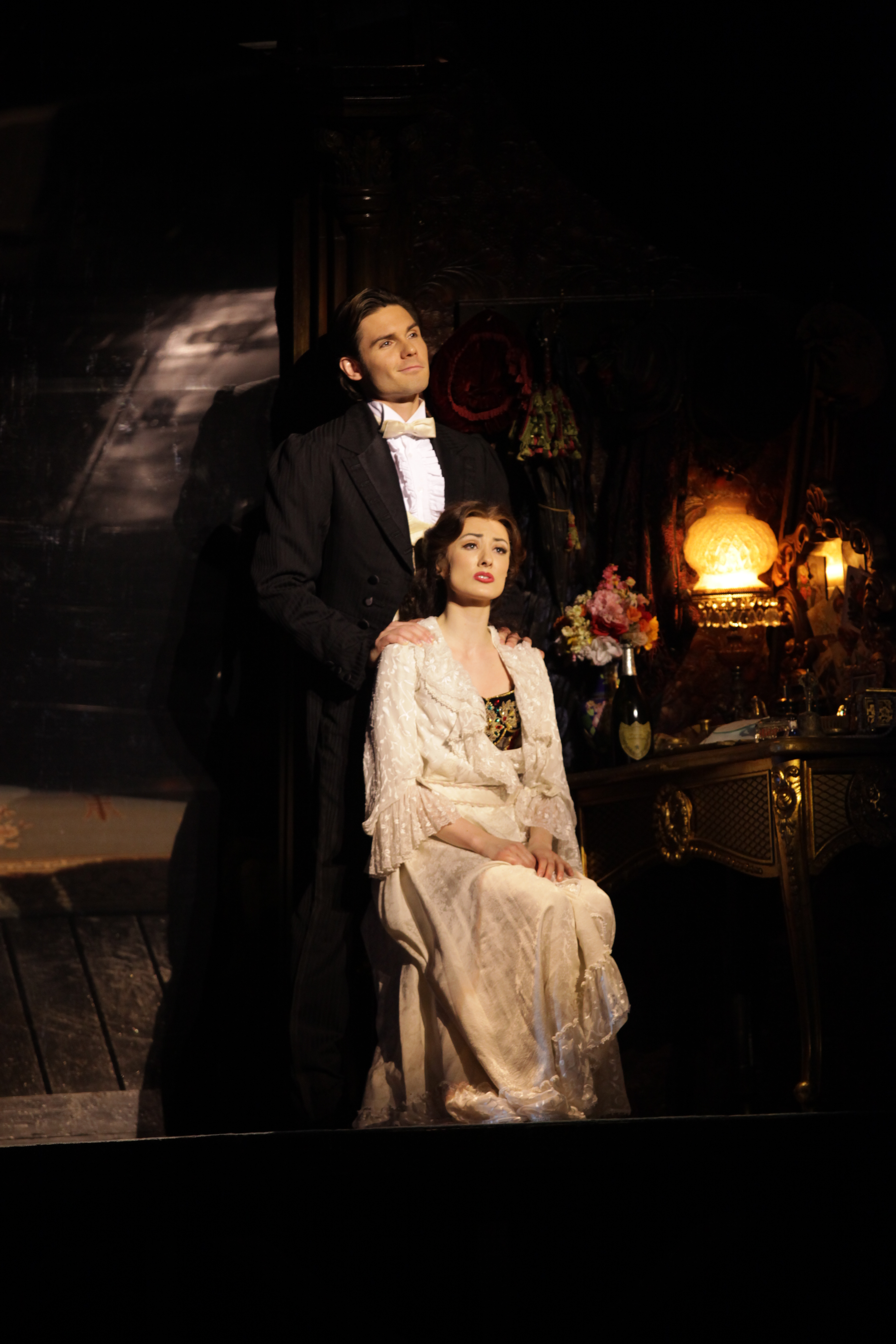 POTO_Claire and Anthony Dressing Room