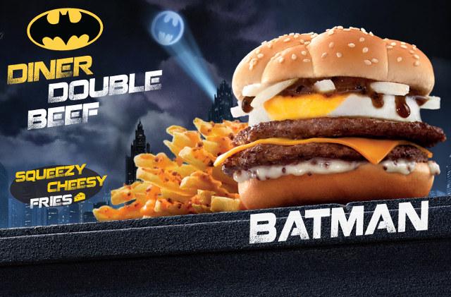 McDonald's Brand New Bat-Burger!