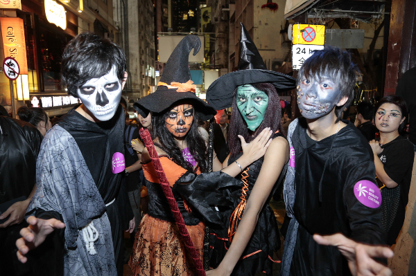 The Ultimate 2014 Halloween Guide in Hong Kong