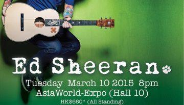 x Ed Sheeran Live in Hong Kong x