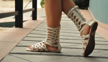 Spotted: Gladiator Sandals!