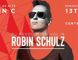 DJ Revolution Vol. 16 ROBIN SCHULZ @ ZENTRAL