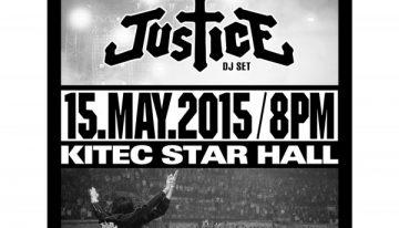 Your Mum Presents: Justice (DJ Set) in Hong Kong