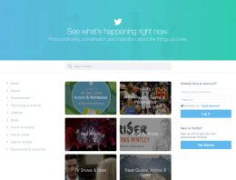 Twitter Introduces A New Homepage, Yay Or Nay?