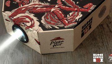 HK Pizza Hut Launches…The Pizza Box Movie Projector?!