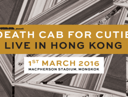 Death Cab For Cutie will FINALLY be making their way to Hong Kong