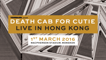 Death Cab For Cutie Live in Hong Kong