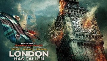 """Watch The New Official Trailer for """"London Has Fallen"""""""